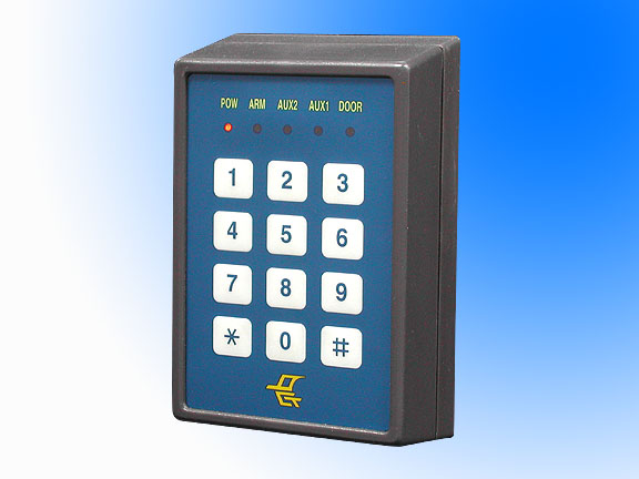 keypads and card access control